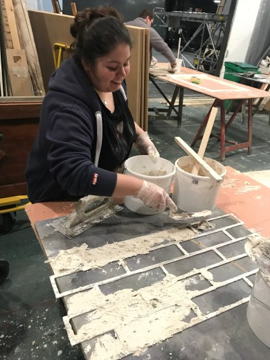Sophie and Jen, scenic art 4
