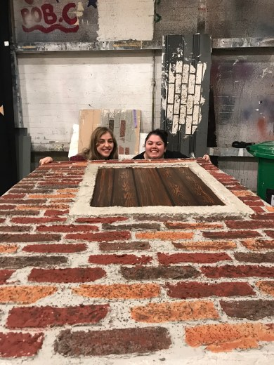 Sophie and Jen, scenic art 6