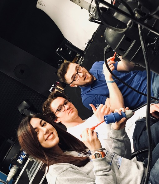 Emily, Tom and Colin electrics