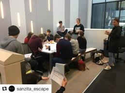 Team briefing. Photo, sanzita_escape