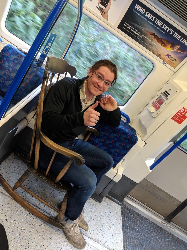 Tom on tube